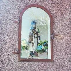 Przydrożna kapliczka w gminie Choroszcz
