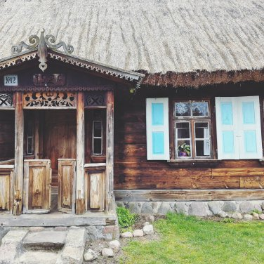 Drewniany Dworek w Białostockim Muzeum Wsi
